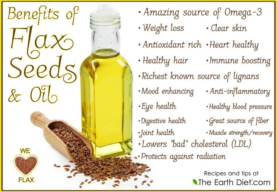 Health Benefits of Flax Seeds and Flax Seed Oil